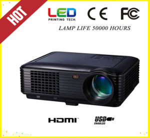 Black&White 1080P HD Home Thater LED Projector (SV-226) pictures & photos