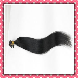 Premium Remy Human Hair Extensions U-Tip Silky Straight 18inches pictures & photos