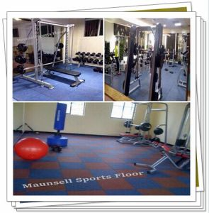 China Top Quality Rubber Gym Floor / Tile Roll Mode pictures & photos
