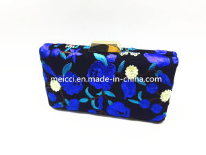 The Clutch Bag Was Embroidered Very Beautiful Flower. New Style! pictures & photos