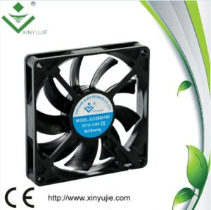 12V Low Noise 80mm DC Fan Brushless DC Cooling Fan 80X80X15mm pictures & photos