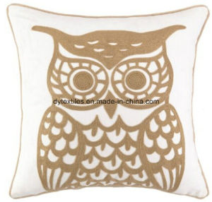 Peking Handicraft Stitch Throw Pillow, Owl Crewel pictures & photos