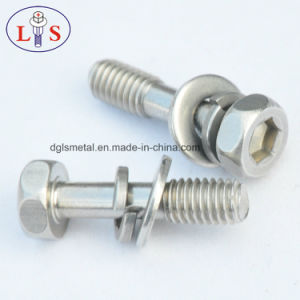 Stainless Steel Hexagon Head Assemblies Bolt with Washers pictures & photos