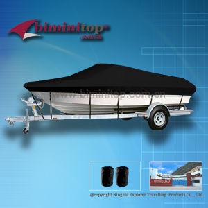 Waterproof Boat Covers 17-19′ Black (ECB600-D)