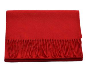 100%Alashan Cashmere Fashion Shawl in Classic Chinese Red pictures & photos
