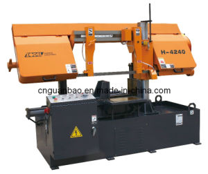 Metal Cutting Band Saw Machine H4240 pictures & photos