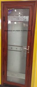 Real Photo White Aluminum Bathroom Door (EA-1007) pictures & photos