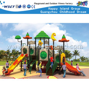 Outdoor Slide Equipment Kids Playground HD-Tsg013 pictures & photos