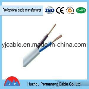 2*0.75mm/2*1mm/2*1.5mm Flat Electrical Wire Flexible Power Cable Rvvb pictures & photos