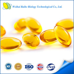 GMP Certified Deep Sea Cod Liver Oil Omega 3 Softgel pictures & photos