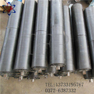 Black Color Impact Resistant Roller Used for High Strength Conveyor System pictures & photos