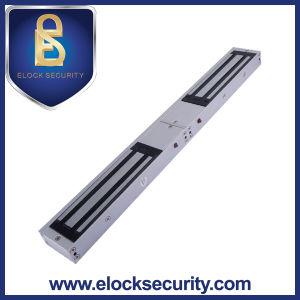 300kg/700lbs Double Door Electromagnetic Door Lock with Feedback