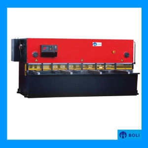 HS8k Series CNC Hydraulic Guillotine Shear (shearing machine) pictures & photos