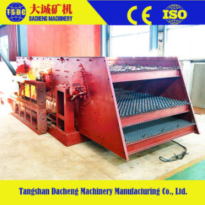 High Frequency Eccentric Liner Vibrating Screen for Sale pictures & photos