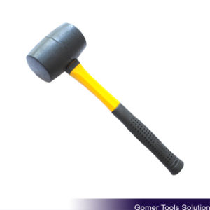 Rubber Mallet with Fiberglass Handle (T05064)