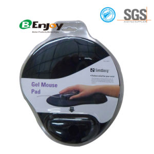 Black Ergonomic Gel Mouse Pad Gel Keyboard Wrist Rest pictures & photos