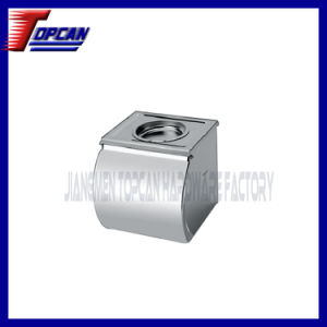 Customized Square Stainless Steel Tissue Holder with Lid