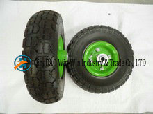 Solid PU Wheel for Hand Trolley From China Supplier (3.00-4) pictures & photos