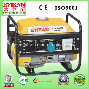 1000W Single Phase Power Petrol Home Gasoline Generator pictures & photos