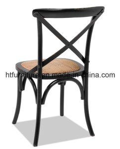 X-Back Black Dining Chairs pictures & photos