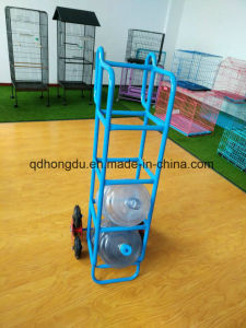5 Gallon Bucket Six Whell Hand Trolley/Bottle Hand Trolley for Stair Climbing pictures & photos