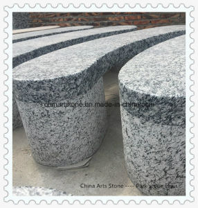 Granite Stone Bench for Park or Garden pictures & photos