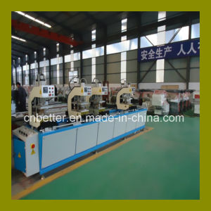 Four Heads Welding Machine for UPVC Window / UPVC Door Window Equipment