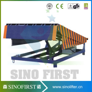 12ton 14ton 16ton Electric Hydraulic Stationary Container Yard Ramp pictures & photos