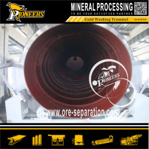 Alluvial Gold Sand Ore Washing Machine Trommel and Sluice Plant pictures & photos