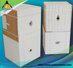 Ceramic Fibre Module with Anchors for Industrial Kilns