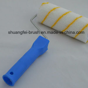 18cm Girpaint (Yellow stripe) Acrylic Paint Roller Cover with PP Handle pictures & photos