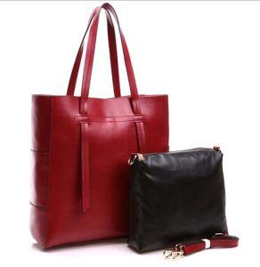 Fshion Bag Simple Style 2 PCS Set Bag for Designer Handbag (XZ1028) pictures & photos