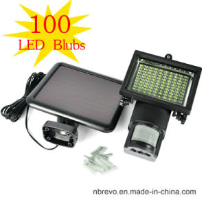 100LED Solar Security Light for Garden House Patio (RS2008-100) pictures & photos