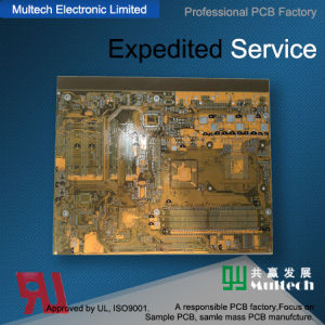 14 Layer Multilayer PCB Board with UL and RoHS Approved