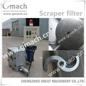 Scraper Type Melt Filter for Plastic Granules Making Machine pictures & photos