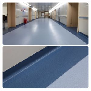 Hot Sale Hospital Usage Ecofriendly Floor Commercial PVC Roll Vinyl Flooring pictures & photos