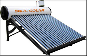 Low Price Wholesale Vacuum Tube Solar Water Heater System (80-360L) pictures & photos