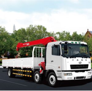 Camc 6*4 Diesel Truck Mounted Crane Heavy Duty Hoisting Machinery