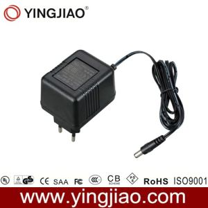 7W AC Plug in Linear Power Adapter with CE pictures & photos