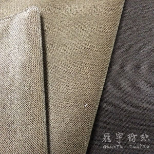 Velour Fabric with Two-Tone Color for Home Textile pictures & photos