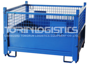Warehouse Folding Storage Cage Swk8006 pictures & photos
