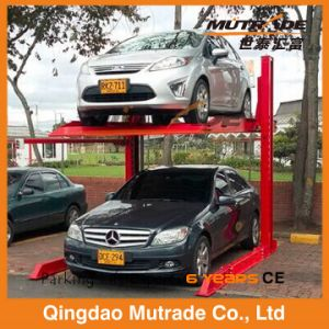 2.3ton Two Post Simple Smart Hydraulic Carport pictures & photos