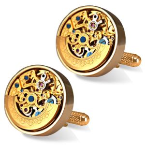 Custom Very Nice Men Watch Movement Cufflinks Cw-3001