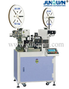 Two Ends Automatic Terminal Crimping Machine (JQ-2) pictures & photos