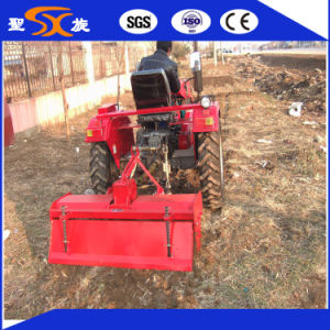 Middle Gear Box Tillage Machine Rotavator with Beautiful Appearence pictures & photos