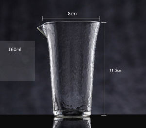 Party Used Elegent Borosilicate Glass Cup Juice Cup Beer Mug pictures & photos