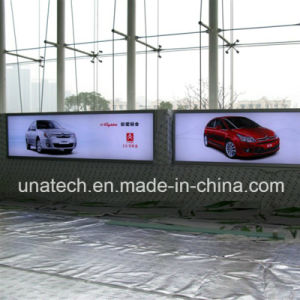 LED Advertising Media Aluminium Banner Tension Light Box Signboard pictures & photos