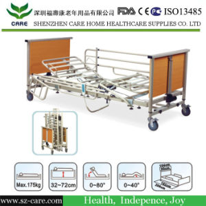 Care Stylish Adjustable Wooden Hospital Bed pictures & photos