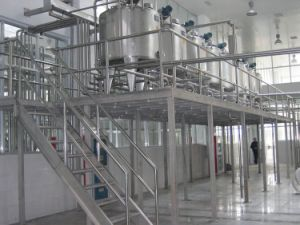 Industrial Stainless Steel Vacuum Lotion Shampoo Toothpaste Emulsifier Mixing Tank pictures & photos