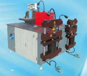 Larger Busbar (16*260 mm) Punch Shear Bend Machine pictures & photos